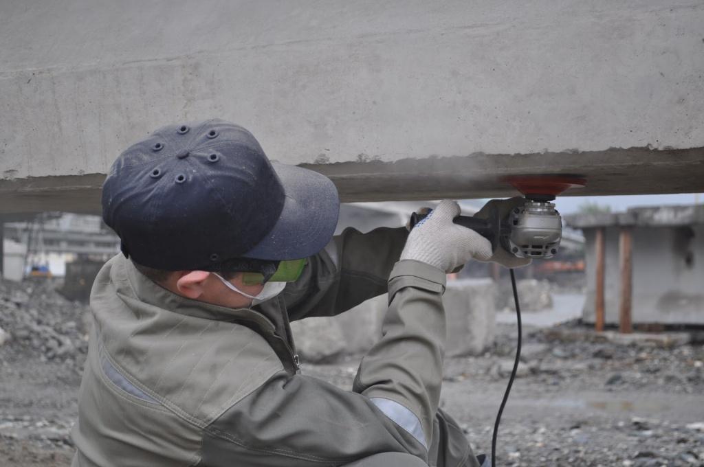 Очистка поверхности бетона мешай бетон