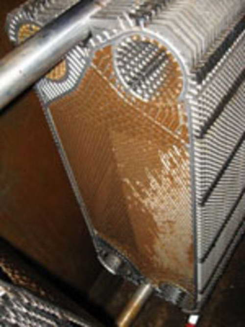 Забился вторичный теплообменник котла замочить в растворе печь чугунная бавария с теплообменником форум
